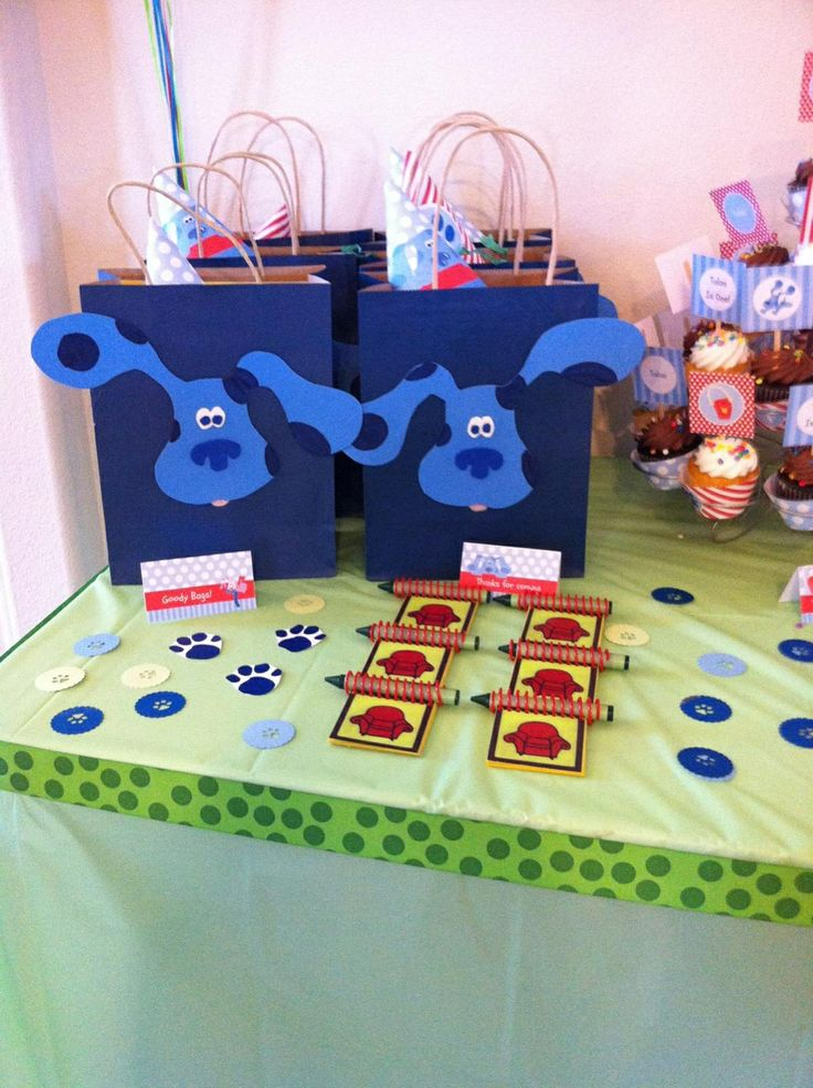 Blues clues party pic for inspiration