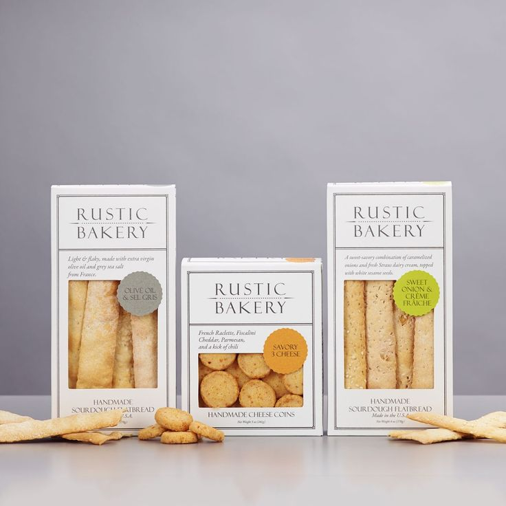 Rustic Bakery Cracker Set | Dean & DeLuca | Rustic bakery ...