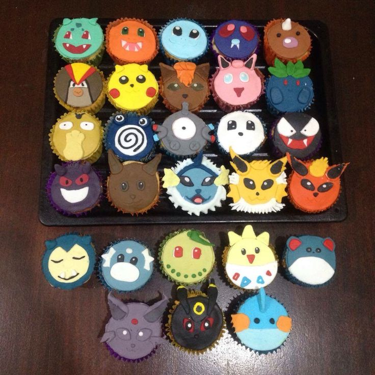 Pokemon's cupcakes                                                                                                                                                                                 More