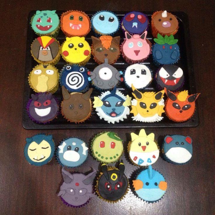 Pokemon's cupcakes