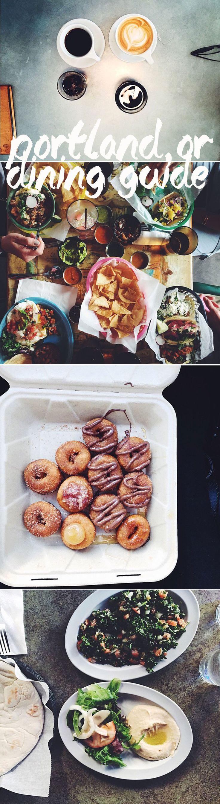 Full Portland, Oregon Dining Guide! #food #portland #oregon #vegan #healthy #coffee