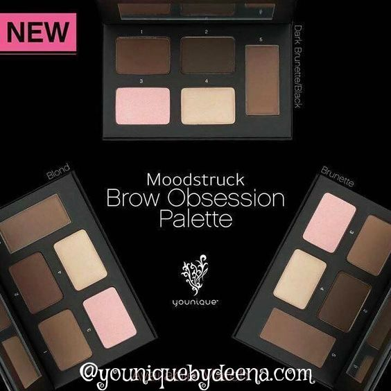 Impeccable products for impeccable eyebrows. For expert brows that pack a punch, the Moodstruck Brow Obsession palette is the ultimate secret weapon. Five divine products sculpt, define, highlight, and set your brows—go bold and daring or precise and powerful. Whatever your mood, the Brow Obsession palette is ready. Choose Blonde, Brunette or Brunette/Black
