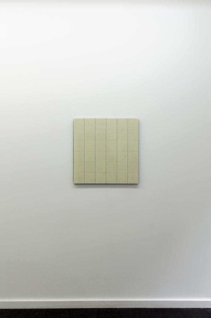 Hartmut Bhöm - RASTER AUS SECHS QUADRATEN - 2015 -  Grid of Six Squares - 2015 - PVC; 60 x 60 x 3.2 cm