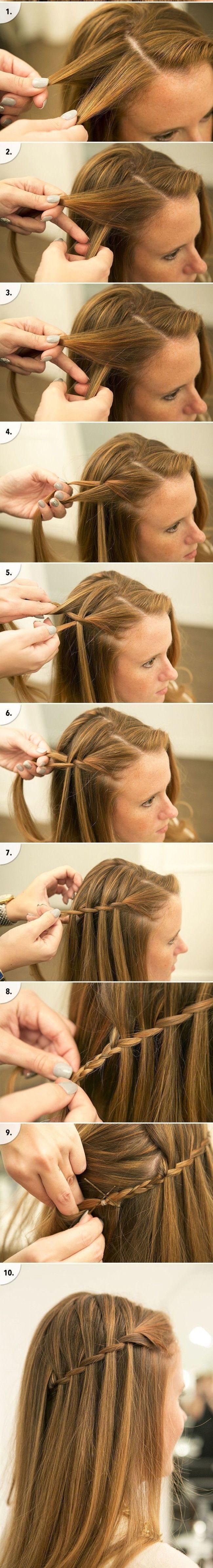 Schnelle, einfache, formale Party-Frisuren für langes Haar DIY-Ideen 2018 #Einfache #Formale #Stile #Ideen #Lange