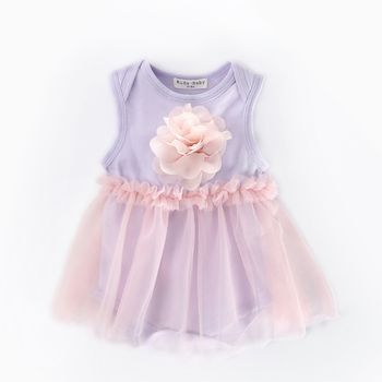 PHB61291 tulle design fashion toddler romper branded baby clothes wholesale