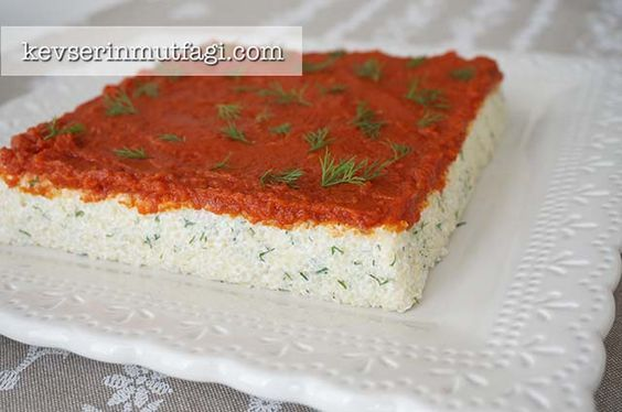 Yoğurtlu Bulgur Salatası Tarifi - Kevser'in Mutfağı - Yemek Tarifleri