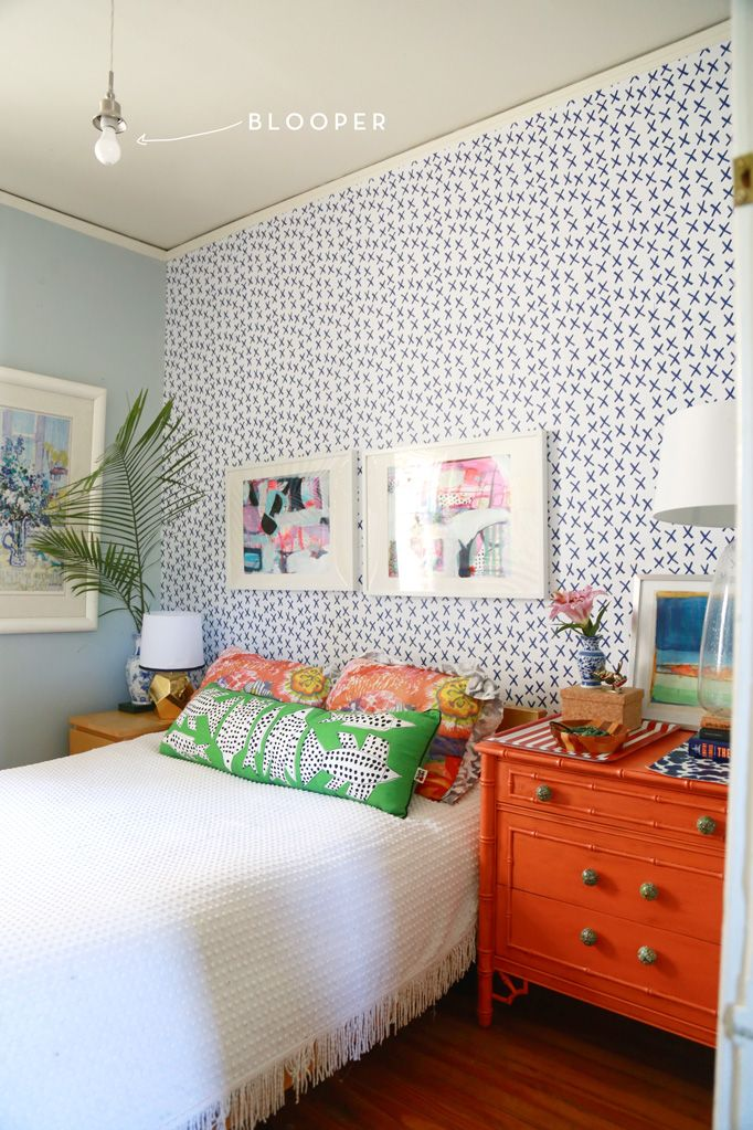 Adventures in Removable Wallpaper  Bedroom Accent WallsBedroom. Best 25  Wallpaper accent walls ideas on Pinterest   Accent