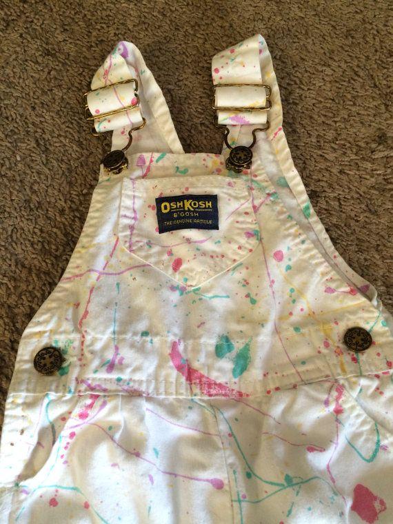 Osh Kosh B'Gosh Painter's overalls 18 months by VintageToyCorner