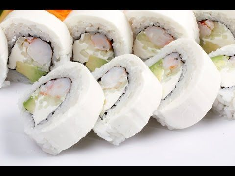 cómo hacer sushi philadelphia roll -  philadelphia maki / Rony en casa - YouTube