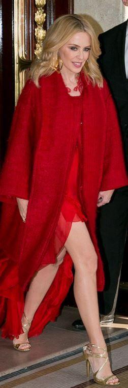 Coat – Dolce & Gabbana Shoes – Jimmy Choo