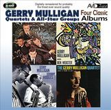 Four Classic Albums: Gerry Mulligan Meets Johnny Hodges/What Is There to Say/Gerry Mulligan Meets Ben Webster/Gerry Mulligan Quartet at Storyville [CD]