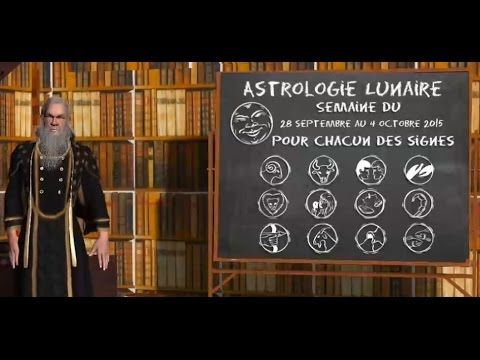 Astrologie Lunaire ☽ Chacun des signes 28 septembre au 04 octobre 2015