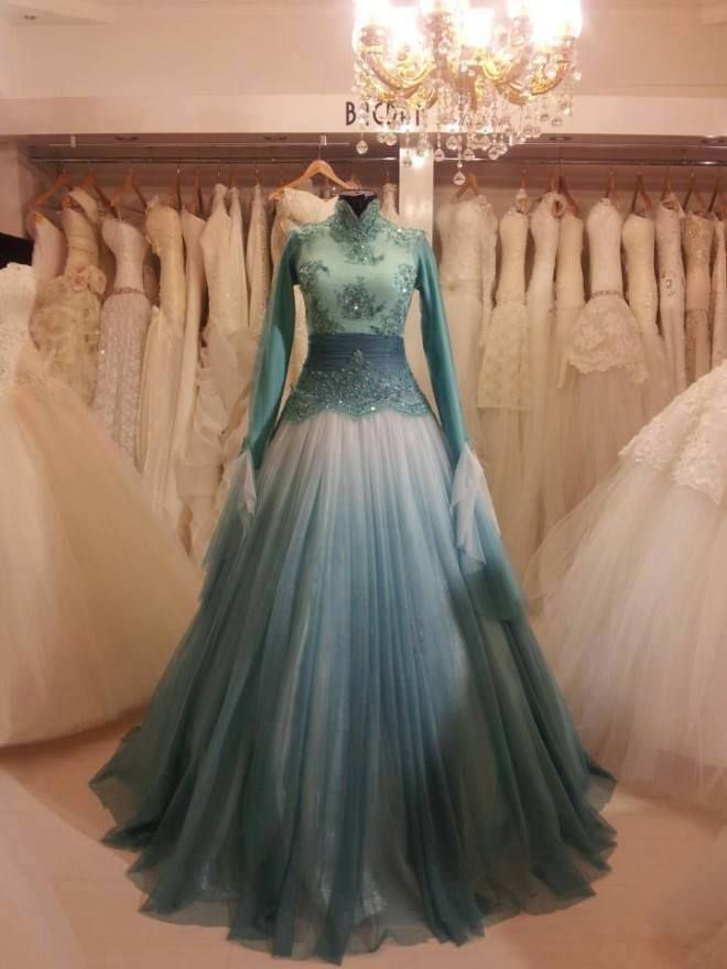 WOW. A dress fit for a princess (or the Snow Queen Elsa). Or Elsa made it for…