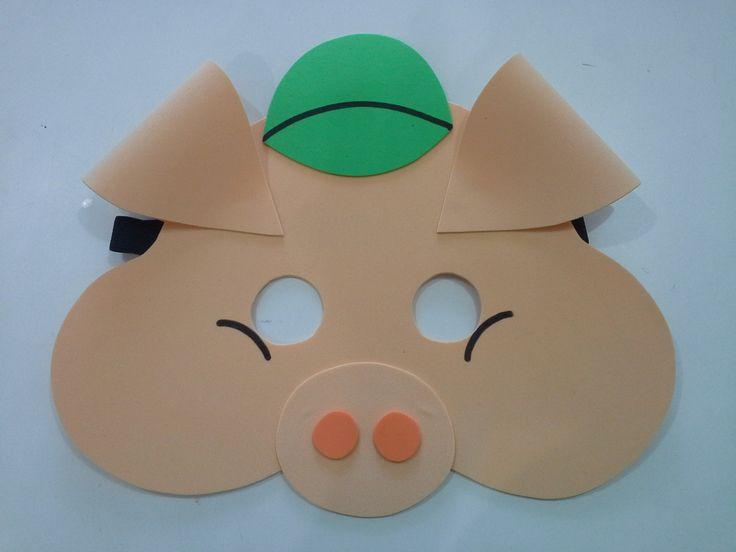 moldes de mascaras de lobo em tnt - Pesquisa Google