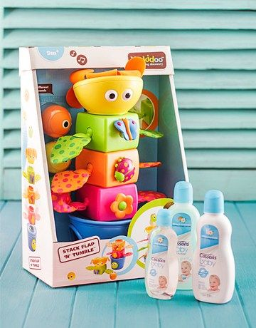 Baby Bath Stacker Toy Hamper