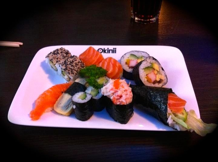 another #Sushi from #Okinii #Wiesbaden