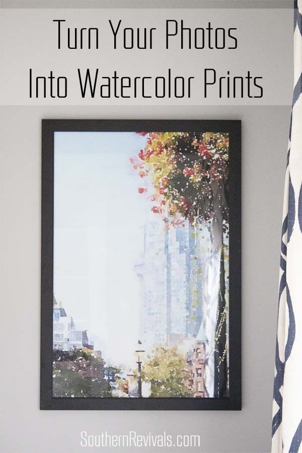 How to Turn Your Photos into Watercolor Prints