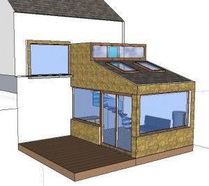 3d split level extension home decorating pinterest for Split level extension ideas