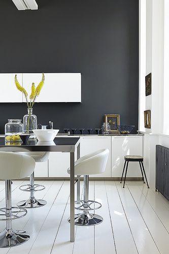 32 besten Farbkonzepte, die Ihr Zuhause optisch vergrößern! Bilder - wandgestaltung esszimmer