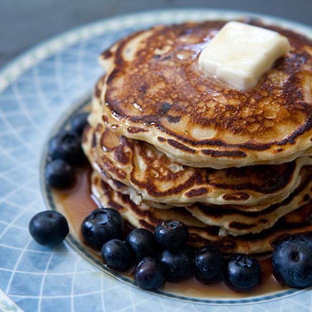 Blueberry Buttermilk Pancakes | Cuisine | Pinterest