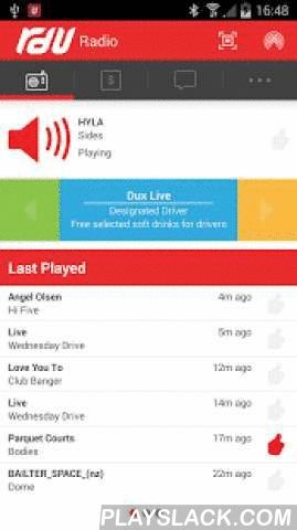 RDU 98.5FM  Android App - playslack.com ,  RDU 98.5 FM is Christchurch NZ's only alternative radio station, and it has now arrived on your smartphone!With our app you can stream the station live wherever and whenever you like!* Plus you can check out the best and newest Kiwi tunes as chosen by you and played on our weekly Te Ahi top 10 show.The app is also your gateway to loads of great discounts and offers in Christchurch City through our loyalty scheme, RDUnited! Use the app itself to scan…