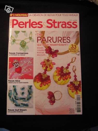 REVUE * PERLES & STRASS * N°3 - Livre - Sports & Hobbies  - leboncoin.fr