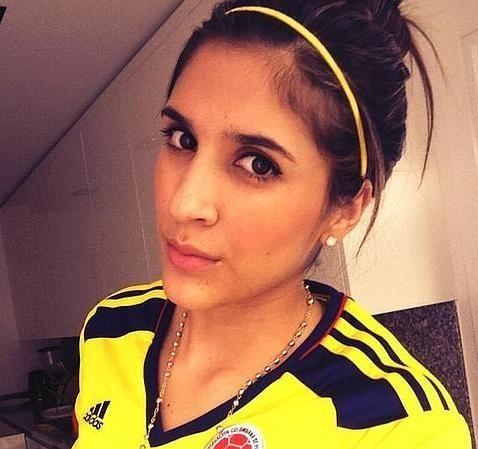 #Daniela #Ospina, esposa de James Rodríguez.
