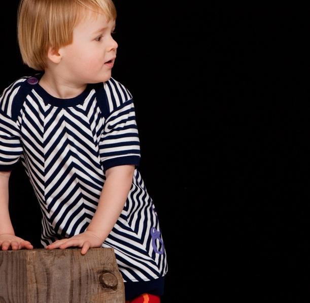 Who Made Me - Organic Stripe dress