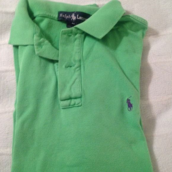 Green polo shirt Short sleve Ralph Lauren Tops