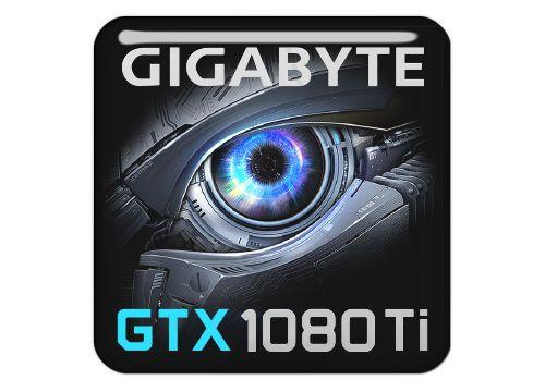 11 99 Gigabyte Geforce Gtx 1080 Ti 1 X1 Chrome Effect Domed Case Badge Sticker Logo Ebay Electronics Logo Sticker Logos Logo Items