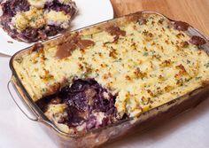 Ovenschotel met stoofvlees en rodekool - Keuken♥Liefde
