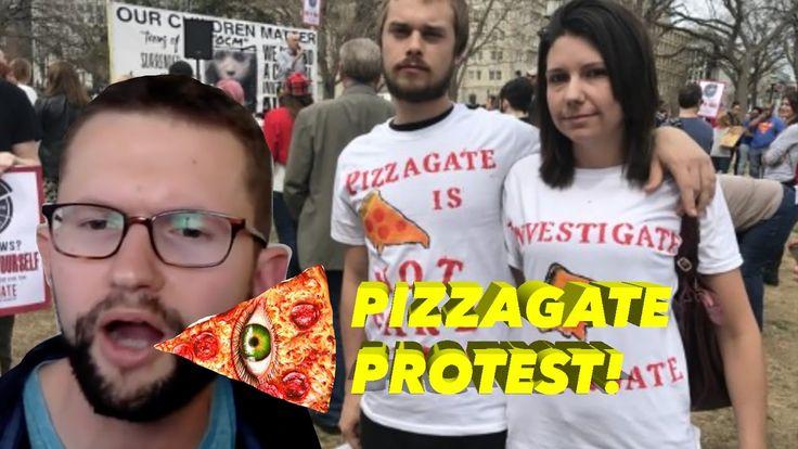 PIZZAGATE PEDOGATE PROTEST IN DC! SHILL DAVID SEAMAN MAKES IT ABOUT HIM ...