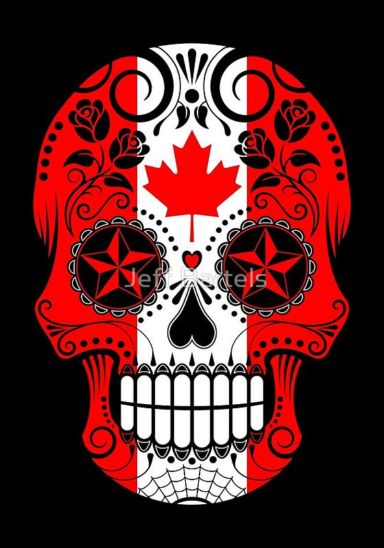 Sugar Skull Flags by jeff bartels