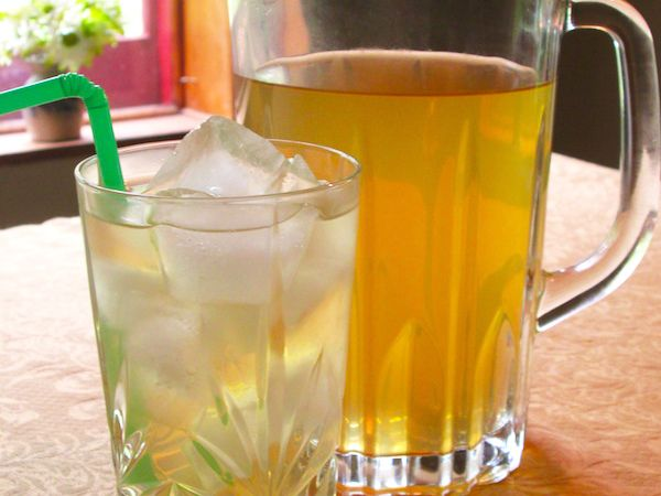 Top Secret Recipes | AriZona Green Tea with Ginseng and Honey Copycat Recipe
