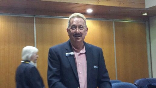 Councillor Waterman in the Chamber