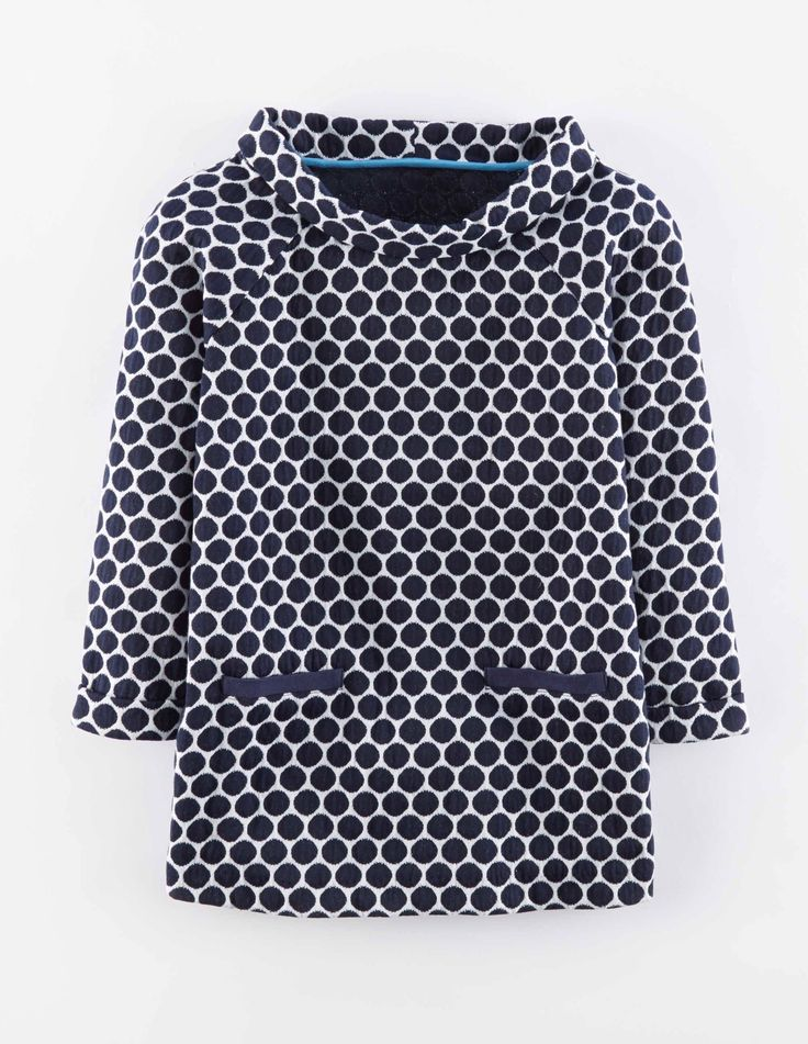 Boden Jersey Jacquard Top.  I love this for cooler weather. A good neckline for me.