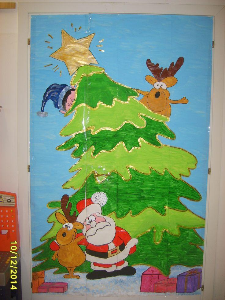 Oltre 1000 idee su porte della scuola su pinterest for Porte natalizie scuola
