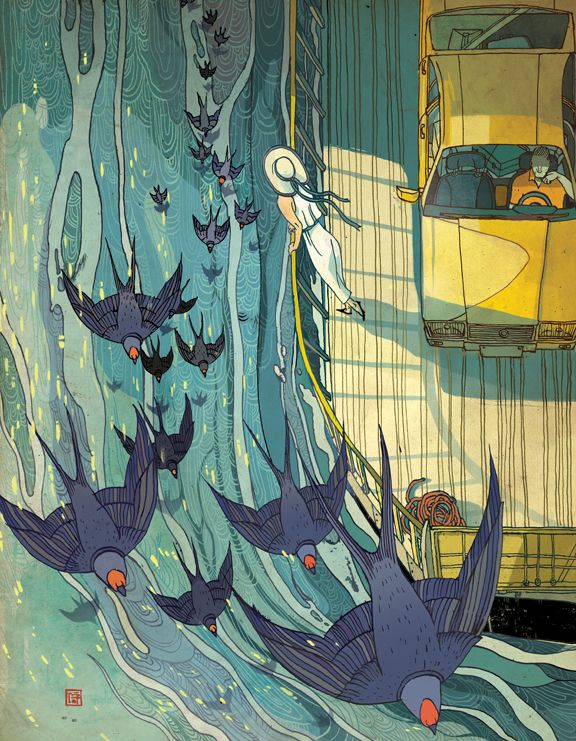 Victo Ngai – Illustration for the New Yorker