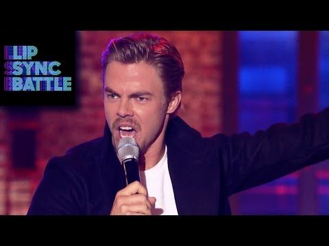 ▶ Derek Hough's Can't Hold Us vs. Julianne Hough's All About That Bass   Lip Sync Battle - YouTube