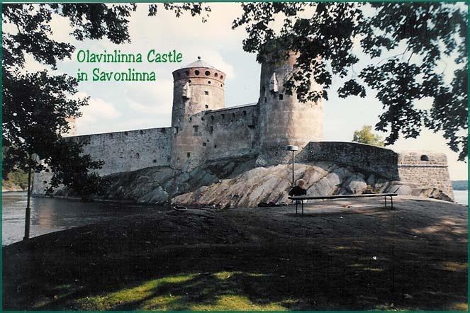 Olavinlinna Castle in Beautiful Savonlinna Finland