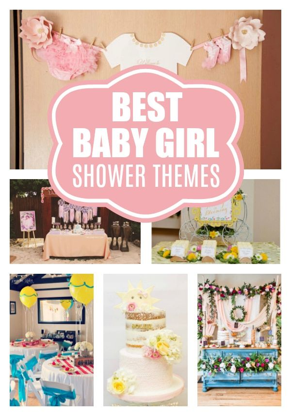 15 Baby Shower Themes For Girls Pretty My Party Girl Shower
