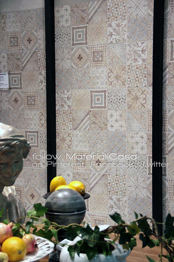 Le cementine secondo Rondine Group. #Cersaie2014 #CeramicTiles Company: Rondine Group (Italy)
