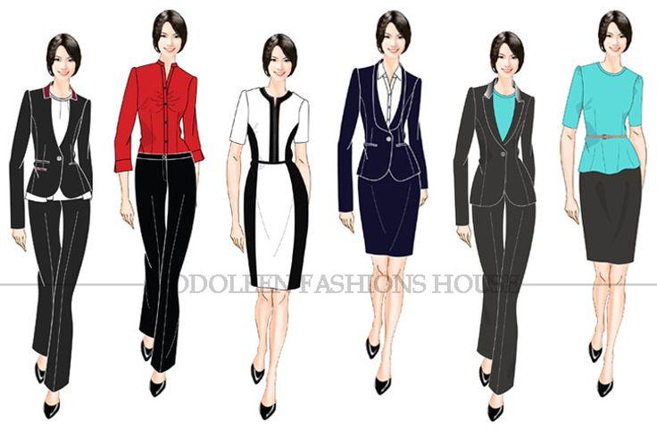 Corporative jniform work outfit pinterest uniform for Spa uniform singapore