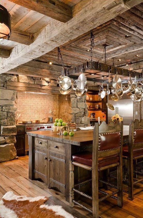 Cuisine Rustique : 23 Idées U0026 Inspirations (PHOTOS)