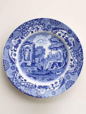 Blue Italian Plate Spode\u0027s Italian Scene aka Blue Italian launched in 1816. The  sc 1 st  Pinterest & 11 best Spode Blue Italian 200th Anniversary images on Pinterest ...
