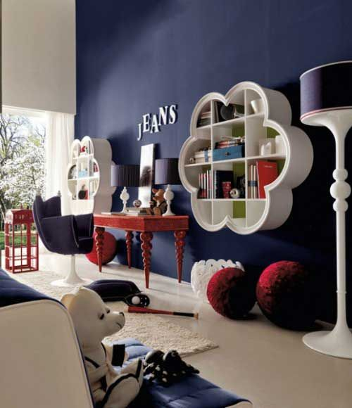 Teen Girls Bedroom Interior