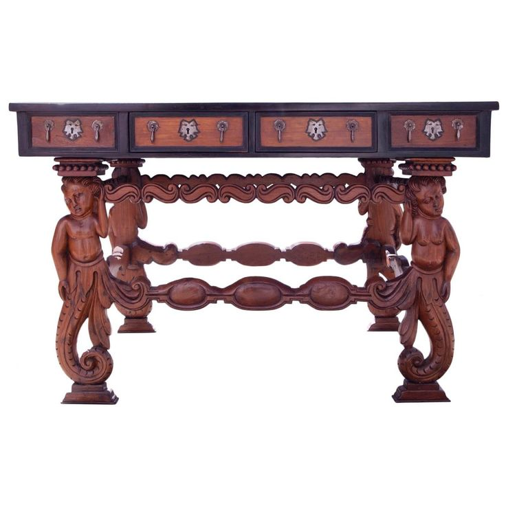 17th Century Indo-Portuguese Hall Table | From a unique collection of antique and modern center tables at https://www.1stdibs.com/furniture/tables/center-tables/