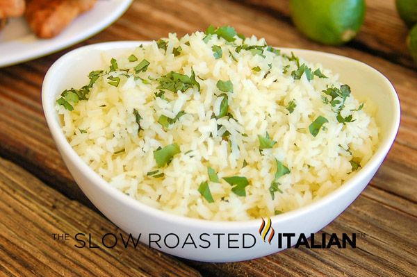 Chipotle's Copycat Cilantro Lime Rice