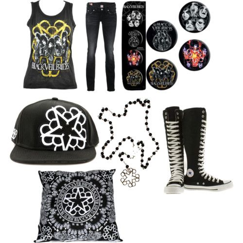 Black Veil Brides Outfits   black veil brides outfit for girls - Polyvore
