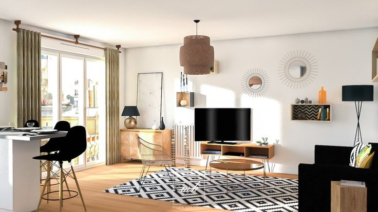 Les 171 meilleures images du tableau mes conception 3d sur pinterest cuisiner s jour cuisine for Conception salon 3d
